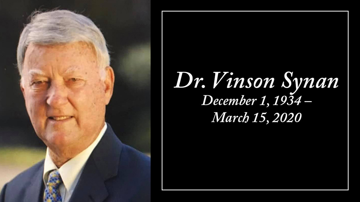 Dr. Vincent Synan